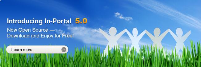 Introducing In-Portal 5.0